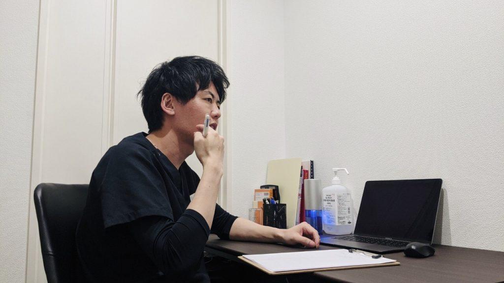真剣に患者さんに寄り添った対話をしてくれる竹田先生