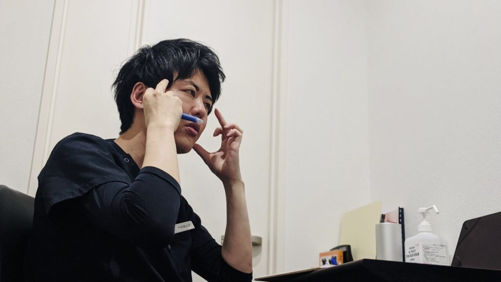 今までの症例や経験をもとにアドバイスをくれる竹田先生